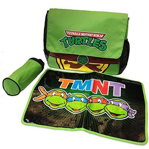 TMNT Ninja Turtles Messenger Diaper Bag Set
