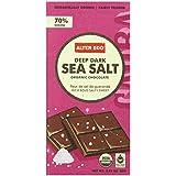 Alter Eco - Chocolate - Dark Sea Salt 70% - Single, 2.82 Ounce