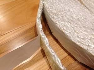Adhesive backed wood stove door gasket fiberglass rope for 14mm stove door rope