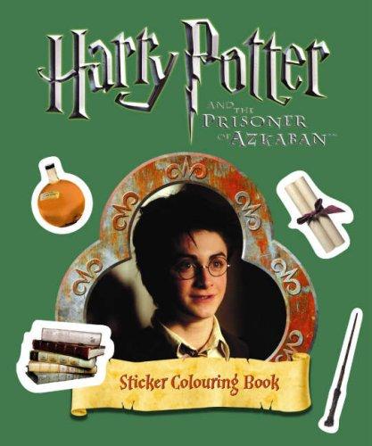 Harry Potter and the Prisoner of Azkaban: Sticker Colouring Book
