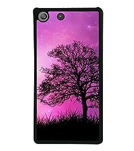 Beautiful Sky 2D Hard Polycarbonate Designer Back Case Cover for Sony Xperia M5 Dual :: Sony Xperia M5 E5633 E5643 E5663