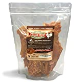 #1 Premium Chicken Jerky Dog Treats - Made in USA Only - No Fillers, Additives or Preservatives - One Ingredient: USDA Grade A Chicken - Great For Training/Bribing Your Pet - 100% Empty Bag Satisfaction Guarantee