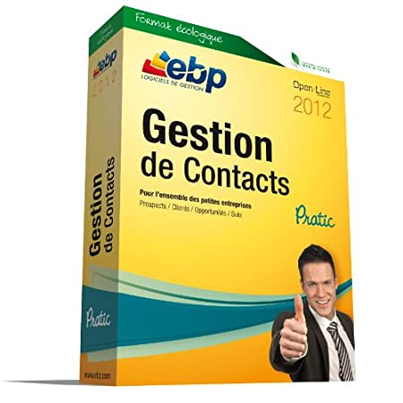 EBP Gestion de Contacts Pratic 2012
