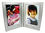 Dual Recording Photo Frame Memories You Can Hear!, RE9938 (Silver)