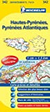 Carte DPARTEMENTS Hautes-Pyrnes Pyrnes-Atlantiques