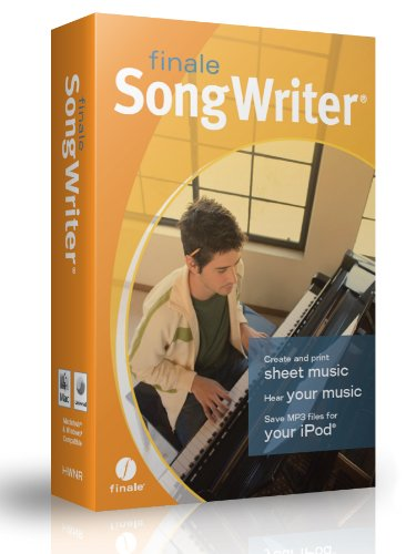 Songwriter software - create sheet music