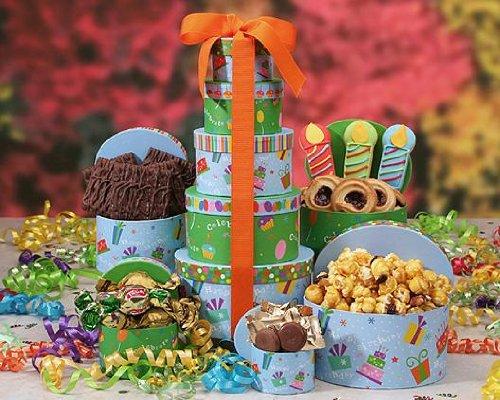 Send Fresh Cut Flowers - Make A Wish Mixed Gift Basket