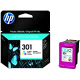 HP 301 - Cartucho de tinta original, tricolor