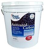 51t7grUyOJL. SL160  Pond Logic Activated Carbon, 9 lbs (w/ Mesh Bag)