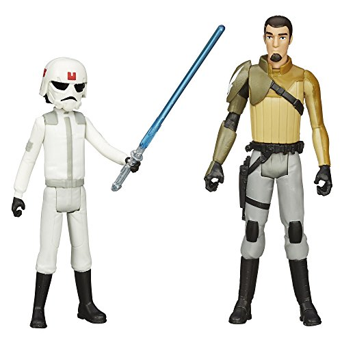 Star Wars Mission Series Ezra Bridger (Cadet) and Kanan Jarrus Pack