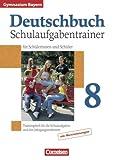Deutschbuch Gymnasium - Bayern: 8. Jahrgangsstufe - Schulaufgabentrainer mit Lösungen title=