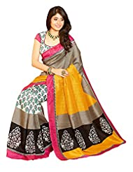 Tagbury Raw Silk Stylish Saree