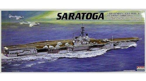 1/800 戦艦 空母 No.18 空母 サラトガ