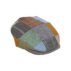 Flat Cap-Vintage Style Patchwork-Hanna Hats