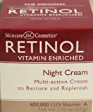 Skincare LdeL Cosmetics Retinol Vitamin Enriched Night Cream 2.25 Oz