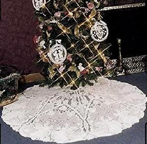 "Heritage Lace Angels Christmas Tree Skirt 50"" Round"