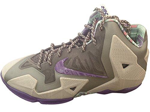 Nike GS LeBron 11 XI Terracotta Warrior 621712-003 Size 4Y-7Y Kids Boys HEAT