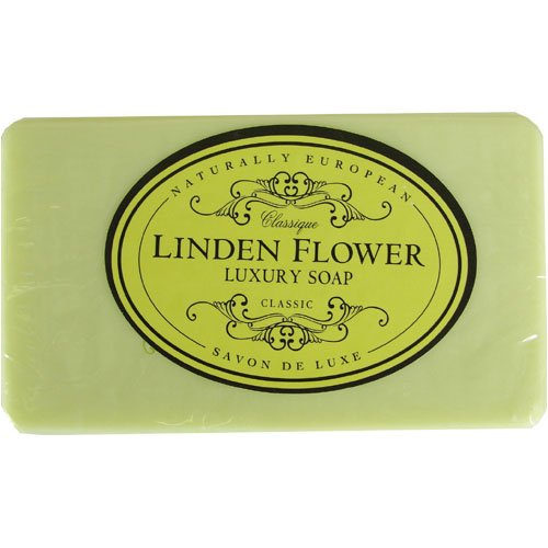 Naturally European Almond Oil Bath Soap 230 gr 8.1 oz, Linden Flower