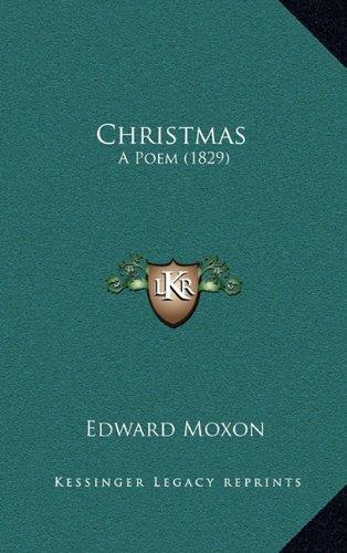 Christmas: A Poem (1829)