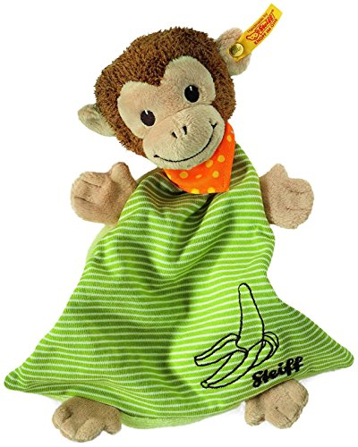 Steiff Jocko Monkey Comforter - Brown/Beige/Green