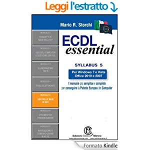 ECDL Essential - Modulo 5 - Uso delle basi di dati