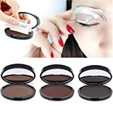 Pride and Groom Brow Salon - Accurate and Easy Two Step Eye Brow Stamping Make Up (Chocolate Brown) (Color: Chocolate Brown)
