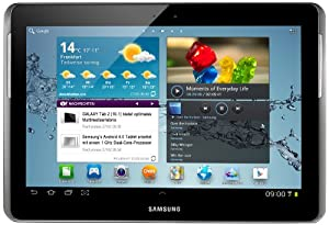 Samsung Galaxy Tab 2 P5110 WIFI Tablet (25,7 cm (10.1 Zoll) Display, 1GHz Prozessor, 1GB RAM, 32 GB Speicher, 3,2 Megapixel Kamera, Android) titanium-silber