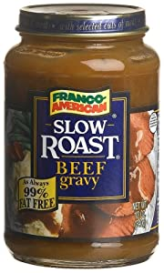Franco-American Slow Roasted Beef Gravy, 12-Ounce Cans (Pack of 12)