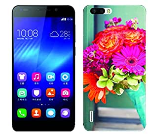 WOW 3D Printed Designer Mobile Case Back Cover For Huawei Honor 6 Plus / Huawei Honor 6 Plus