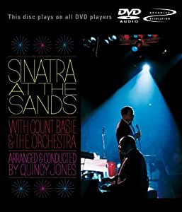 Frank Sinatra : Live at the Sands [DVD audio]