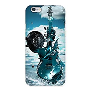 Cute Anime Sky Guitar Back Case Cover for iPhone 6 6S
