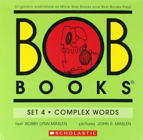 Bob Books Set 4 - Complex Words front-662569