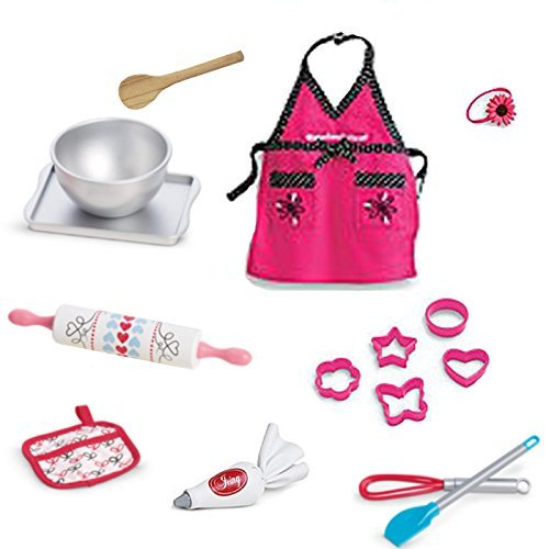 American Girl Grace French Bakery Bakeware Set for 18