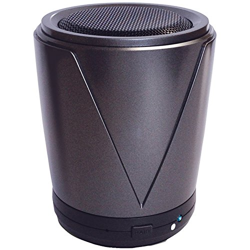 At&T Hot Joe Portable Wireless Speaker For Smartphones - Retail Packaging - Gray