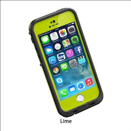 日本正規代理店品・保証付LIFEPROOF 防水防塵耐衝撃ケース LifeProof fre iPhone5/5s Lime ライム 2101-07