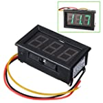 TOOGOO(R) DC 0-99V 3 Wire LED Digital...