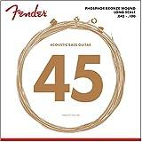 Fender 8060 Phosphor Bronze Acoustic Bass Strings - Long Scale