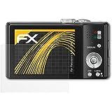 3 x atFoliX Schutzfolie Panasonic Lumix DMC-TZ25 Folie Displayschutzfolie - FX-Antireflex blendfrei