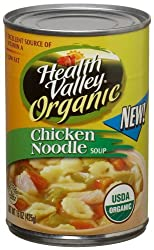 Health Valley Organic Soup, Chicken Noodle, 15-Ounce Units (Pack of 12)