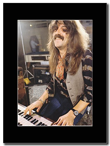 Deep Purple-John Lord Keyboard Maestro. Magazine Promo su un supporto, colore: nero