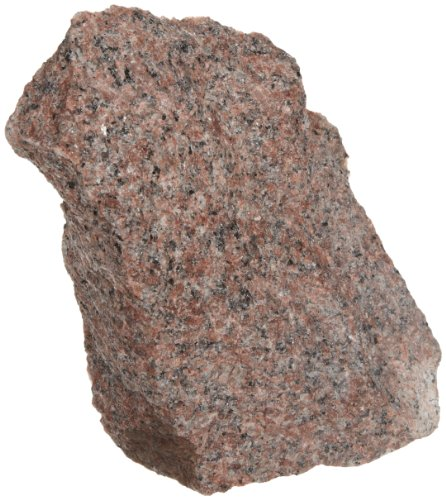 American Educational Red Coarse-Grained Granite Igneous Rock, 1 Kg