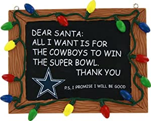 NFL unisex RESIN CHALKBOARD SIGN ORNAMENT at SteelerMania