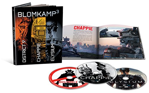 Blomkamp³ Limited Edition Collection (Chappie / District 9 / Elysium + Included Digibook) [Blu-ray]