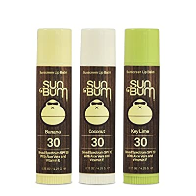 Best Cheap Deal for Sun Bum SPF30 Lip Balm Banana, Coconut, Lime 3 Pack from Sun Bum - Free 2 Day Shipping Available