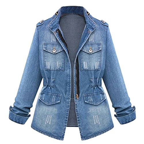 2015 autumn casual womens jeans coat. Black Bedroom Furniture Sets. Home Design Ideas