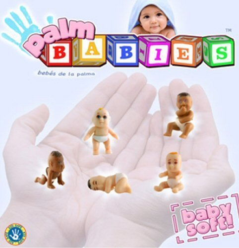 Baby Mania Palm Babies Squishy Soft and Ready to Play - Set of 6 - 1