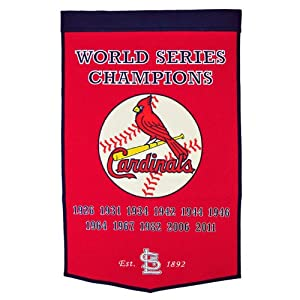 MLB St. Louis Cardinals Dynasty Banner by Winning Streak