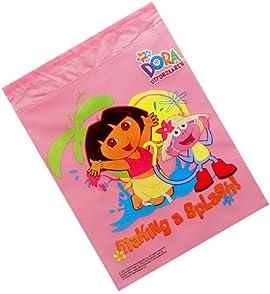 Dora the Explorer Combo - Dora Drawstring Backpack and One Pair of Dora Sandals Set, One Bag will be Sent Randomly