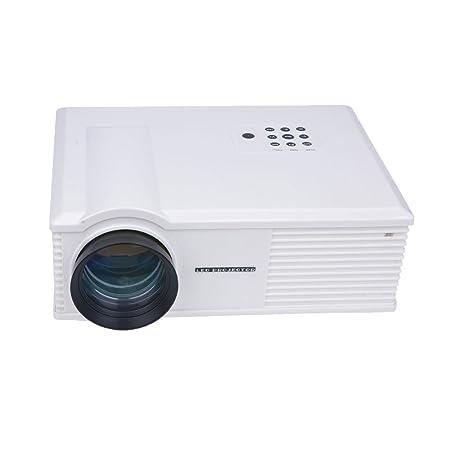"TOOGOO(R)PH580 1280*800 5.8""Professionnelle Cinema HD Maison Cinema Projecteur LCD Blanc"