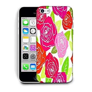 Snoogg Dark Color Roses Printed Protective Phone Back Case Cover For Apple Iphone 6 / 6S